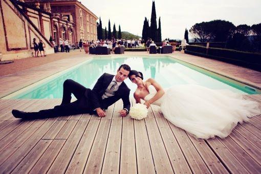 French Castle wedding