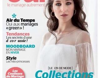 MC Events featured in the most renown French wedding magazine OUI